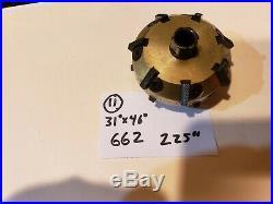 #11 Neway 662 Valve seat cutter carbide 31 x 46 2.25