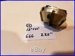 #12 Neway 666 Valve seat cutter carbide 15 x 60 2.25