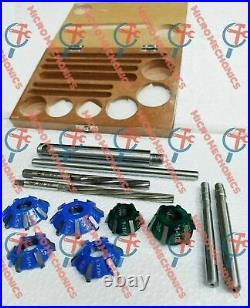 12x Valve Seat Cutter Kit Carbide Tipped With HSS Reamers Fast & Professional