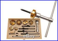 14-piece valve seat milling cutter set code BGS68346 BGS workshop