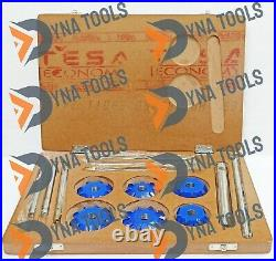 14x CHEVY 350 Small Block Heads VALVE SEAT CUTTER KIT 3 ANGLE CUT CARBIDE TIPPED