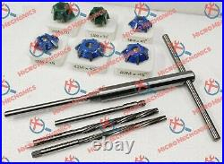14x Valve Seat Cutter Kit Carbide Tipped With HSS Reamers Fast & Economical