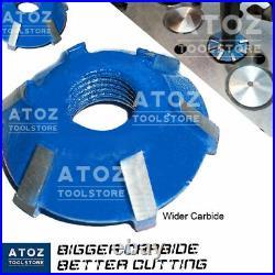 15 Cutters Set Carbide Tipped Valve Seat Face 30 45 70 (20 Deg) 3 Angle Cut ATOZ