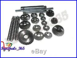 15 pcs Valve Seat & Face Cutter Set Automotive Industrial Tool-Heavy Duty