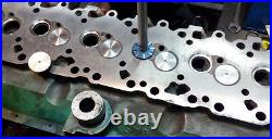 17x CHEVY 350 HEADS MODIFIED VALVE SEAT CUTTER SET 3 ANGLES CUT 2.02-1.600