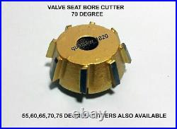 17x DAYTONA 3 AC HARLEY DAVIDSON 1340 EVOLUTION 1985-1999 VALVE SEAT CUTTER KIT