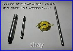 17x Harley IRONHEAD Sportster models from 1970-85 VALVE SEAT CUTTER KIT CARBIDE