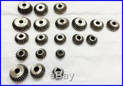20 Piece Valve Seat & Face Cutter Set Of 20 Pcs Carbon Steel With Wooden Box