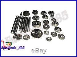 20 pcs Valve Seat & Face Cutter Set Automotive Industrial Tool-Heavy Duty