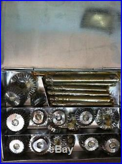 21 Valve Seat Cutter Set High Carbon Steel 1.3/16 To 2.1/8 45 Degree + 30+70