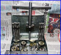 22 Pc Valve Seat Cutter Kit High Carbon Steel