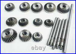 22 x Valve Seat & Face Cutter Set for Bikes Cars Small Engine 12 Pieces Cutters