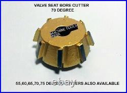 24 pcs Valve Seat Cutter Set Carbide Tipped To cut Modern Heads Hard Seats Rings