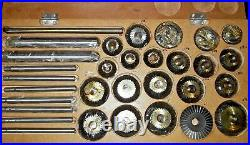 24 pcs Valve Seat & Face Cutter Set With Wooden Box Best Quality In India HD HQ