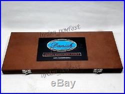 26x HIGH CARBON STEEL VALVE SEAT CUTTER SET WOODEN BOX