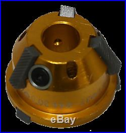 28-37mm @ 30° / 37-44mm @ 75° Valve Seat Cutter for #6257 and #6258 T&E Tools