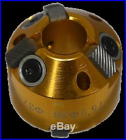 28-37mm @ 45° & 75° Valve Seat Cutter for #6257 and #6258 T&E Tools 6257-C1