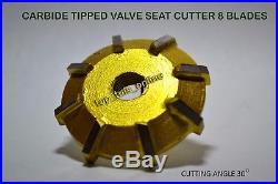 29x 3 Angels Cut 30,45,70 Carbide Tipped Valve Seat Cutters Kit Atv, Go Kart, Bike