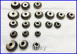 30 Pieces Valve Seat Face Cutter Set Has 20 Carbon Steel Cutters & 8 Guides NEW