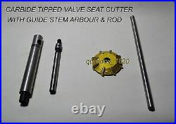 32x American Big Block Race Head Kit 3 Angle Cut Valve Seat Cutters Carbide