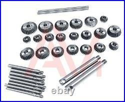 33 Piece Valve Seat Face Cutter Set Of 33 Pcs Carbon Steel In Metal Box Packing