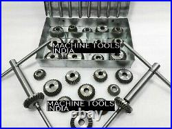 34x VALVE SEAT CUTTER SET HIGH CARBON STEEL 1.3/16 TO 2.1/8 45 + 30 +70 Degree