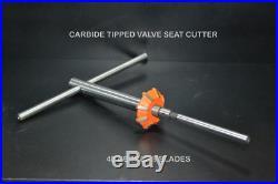 3 Angle Cut Valve Seat Cutter Kit As Oem 30,45,60 Degree Dirt Bikes, Atv's Heads