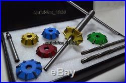 3 Angle Cut Valve Seat Cutter Kit CHEVY, FORD, HEMI Big Block Motor 30-45-70 Deg