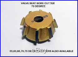 3 Angle Cut Valve Seat Cutter Kit Chevy, Ford 2.02 -1.600 30-45-60 Degree