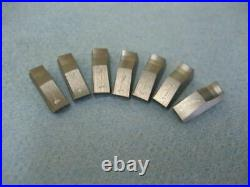 3 angle valve seat cutter blades #1 for New3Acut cutters 7pack 30/45/60 profile
