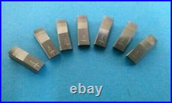 3 angle valve seat cutter inserts #4 for New3Acut 7pack 30/45/60X. 062 Profile