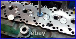 43x VALVE SEAT CUTTER SET CARBIDE TIPPED FOR CHEVY, FORD. CHRYSLER, DODGE+2.500 CUT
