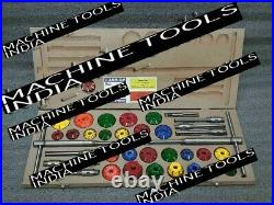 43x VALVE SEAT CUTTER SET CARBIDE TIPPED SMALL & BIG BLOCK HEADS FORD, CHEVY, HEMI