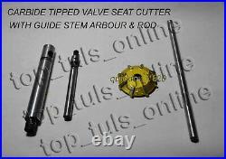 43x VALVE SEAT CUTTER TOOL KIT CARBIDE TIPPED LS1, LS2, KOHLER, CUMMINS V8, V6 HEADS