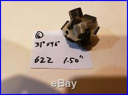 #6 Neway 622 Valve seat cutter carbide 31 x 46 1.5