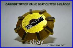 6x DAYTONA BRIGGS & STRATTON 16 HP CAST IRON ENGINE VALVE SEAT CUTTER SET CARBID
