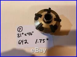 #7 Neway 642 Valve seat cutter carbide 31 x 46 1.75