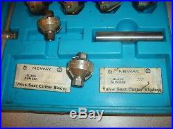 8-Cutters Neway Valve Seat Cutter Set 203 213 230 288 292 622 642 652 Excellent