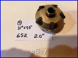 #9 Neway 652 Valve seat cutter carbide 31 x 46 2.00
