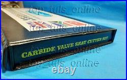 9x DAYTONA VALVE SEAT CUTTER SET CARBIDE FORD 1932-53 FLATHEAD V8