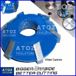 ATOZ 12 Cutters 23x Set Carbide Tipped Valve Seat 45-30-20 Deg for BIKE MERCEDES