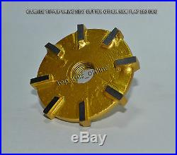 Aircraft Engine Continental Tsio 520 Valve Seat Cutter Kit Carbide Tipped