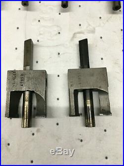 Assorted Harley Valve Guide OD cutters and 2 Valve Spring Seat cutters