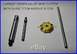 Atv, Dirt Bikes Valve Seat Cutter Set Custom Made 3 Angle Cut Valve Seat As Oem
