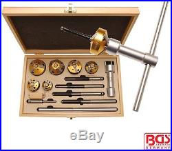 BGS Tools 14-piece Valve For Seat Milling Cutter Set 68346