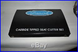Big Block Ford 429 Head Valve seat Cutter Set Carbide Tipped 3 Angle Cut