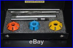 Brand New Carbide Tipped Valve Seat Cutters Kit Suzuki Gxr 1100 Oil Cooled Engin