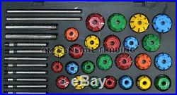 Brand New Valve Seat Cutter Tool Kit Carbide Tipped 37 Pcs Chevy, Ford Big Block