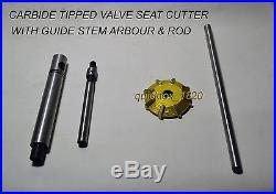 CARBIDE TIPPED VALVE SEAT CUTTERS KIT 37+6 pcs diamond dressers+sioux holder
