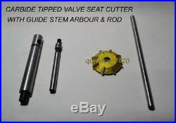 CARBIDE TIPPED VALVE SEAT CUTTER 23mm 30° 27mm 30° 23mm 60° 27mm 60° Customised